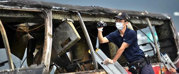 国台办回应台湾火烧车事件调查结果:丧尽天良、泯灭人性