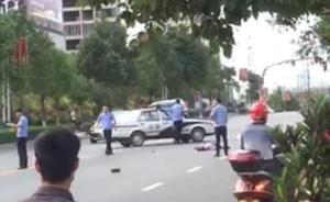 湖南一男子驾车撞人致3死5伤弃车逃跑,曾扬言制造血案被抓