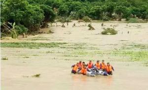 """超强台风""""莫兰蒂""""来袭,东部战区出动2600多人抢险救灾"""