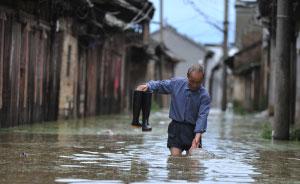 洪涝地图|连日暴雨致多地受灾,安徽、湖北最严重