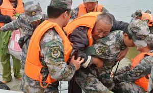 东部战区陆军一班长救援途中遭遇泥石流,被冲入河流后失踪