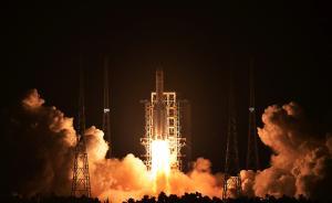 中国首枚大型运载火箭长征五号发射成功,空间进入能力大增