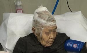 """杭州一男子将93岁""""鞋垫奶奶""""用双截棍打成重伤,已被刑拘"""