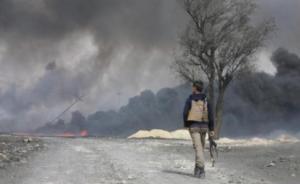 "IS陷两线作战:与伊军打巷战,""首都""又遭叙反对派进攻"