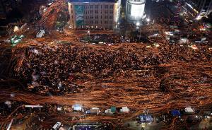 """韩国民众第五轮反朴集会,主办方称130万人""""包围总统府"""""""