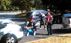 """美检方称夏洛特警察射杀非洲裔男子""""合法"""",该案曾引发骚乱"""
