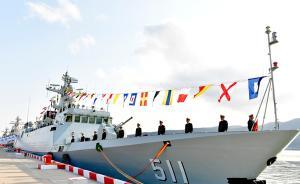保定舰、菏泽舰加入海军战斗序列,装备多套新型武器装备