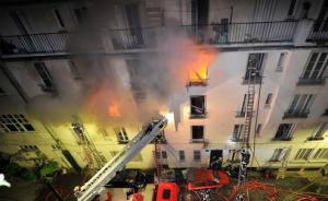 巴黎一移民工人宿舍遭纵火致1死,奥朗德谴责:罪行不可饶恕