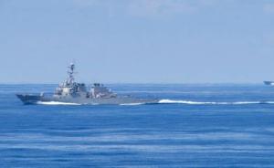 消息人士:中国海军在南海发现一不明装置并对其进行识别查证