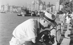 民国老上海摄影:沙飞不仅拍了鲁迅,郁达夫两题骆伯年山水