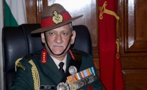 印陆军新总长:正研究中国战区制改革,对华保持戒备与微笑