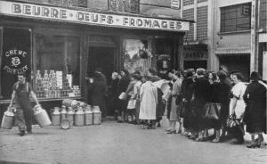 美食之国的饥饿史:二战期间法国的食物短缺