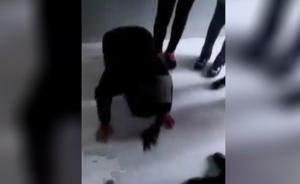 安徽一女中学生遭脚踹被逼磕头认错:校方报案,双方家人谅解