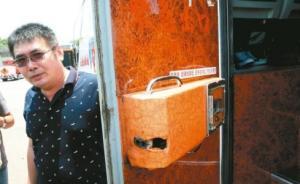 台检方:起火大巴安全门从内部可正常打开,逃生不及是因暗锁