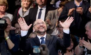 德国社民党决定提名前欧洲议会议长舒尔茨为总理候选人