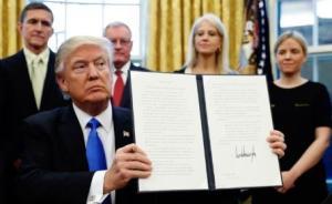 特朗普回应限制移民入境令:为保证国土安全,与宗教无关