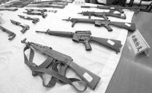 媒体暗访:仿真枪交易隐秘而猖獗,为逃打击拆成零件卖