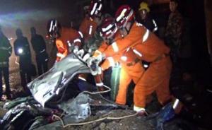 举家泡温泉返回昆明时遇车祸,6人被压货车下全部遇难