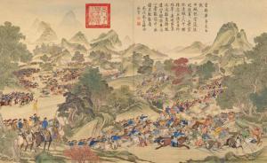 满蒙争雄与现代中国西部疆域的奠定