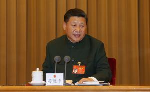 习近平主席出席十二届全国人大解放军代表团活动纪实