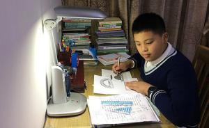 上海少年发明空气净化灯,申请专利已有企业愿数百万元购买