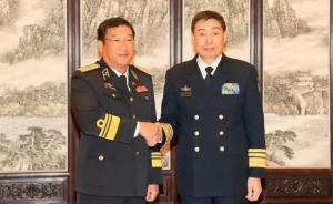 海军司令员沈金龙会见越南海军司令,建议加强海军高层沟通