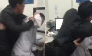 成都一男子酒后摔伤看病时殴打医生、保安,警方:行拘14日