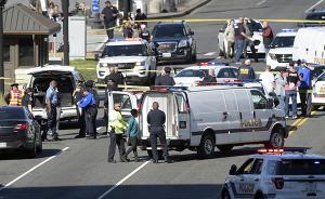 美国会大厦附近传枪声,警方逮捕一名驾车撞击巡逻车嫌疑人
