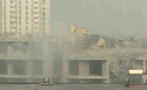 保定满城住建局瞒报称仅九百平米场地存在扬尘,与实际差十倍