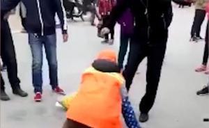 黑龙江环卫女工阻止发传单被殴打,打人男子被拘留七日