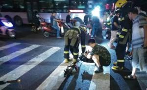 郑州中原路文化宫路突然塌方现大坑,4人落坑2人仍未找到