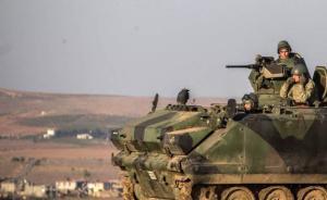 """土耳其攻击伊拉克叙利亚库尔德人,美出动坦克装甲车""""拉架"""""""