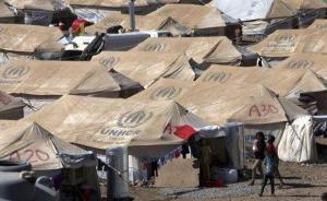 """叙伊边境一难民营遭""""伊斯兰国""""武装分子袭击,30多人死亡"""