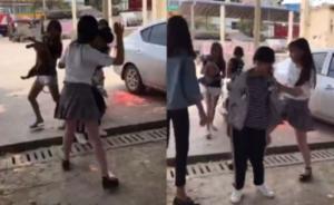 南宁一小学女生被打,警方:两主要违法者未满18岁拘留十日