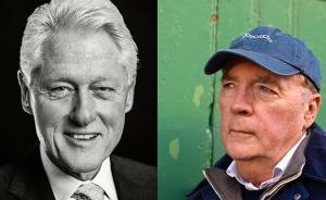 克林顿明年出版小说,将涉及美国总统被绑架的内容