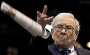 """""""股神""""巴菲特一季度大幅增持苹果股票,至少赚了16亿美元"""