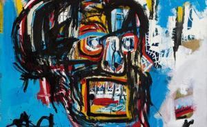 涂鸦也能拍出1.1亿美元,巴斯奎特创美国艺术家拍卖纪录