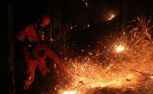 内蒙古森林火灾火场实现合围,外线明火全部扑灭