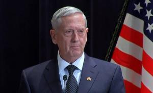 """美防长:军事手段解决朝核问题将造成""""难以置信""""的悲剧"""