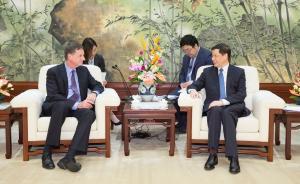 应勇会见芝加哥联邦储备银行主席:上海正加快优化金融环境