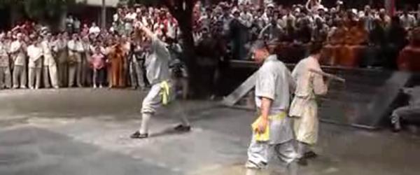 少林寺将办武林大会切磋铁砂掌二指禅,称要办成东方奥运会