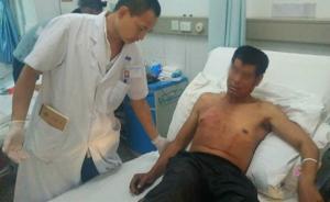 西双版纳一农民干活遭野象袭击,多根肋骨骨折无生命危险