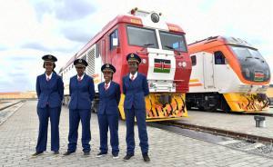 直播录像丨肯尼亚建国后首条铁路通车运营,由中国承建