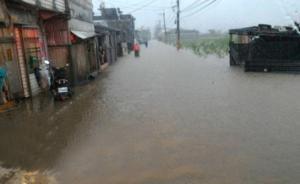 台湾遭雨袭北部局地超大暴雨,新北市多个地区停班停课