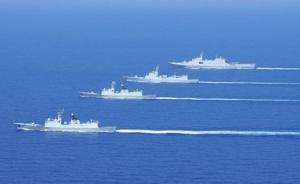 军媒发布20艘多型海军舰艇舰徽,包括郑州舰等明星战舰