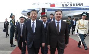 习近平抵达阿斯塔纳,开始对哈萨克斯坦进行国事访问