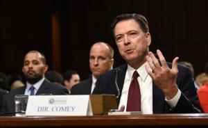 特朗普称FBI前局长科米撒谎,并被律师说服不上推特谈这事