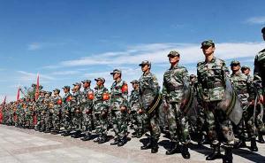 解放军预备役部队诸军兵种齐全的力量新格局初步形成