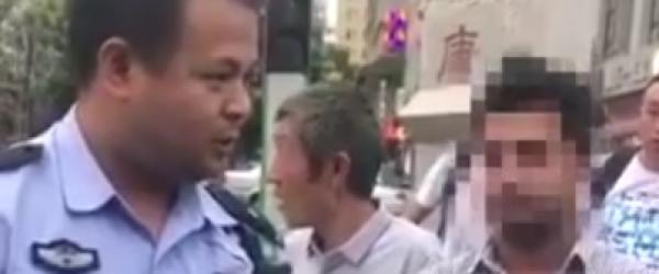 与无照驾驶留学生飚英语的西安交警:从警前在新加坡打工两年