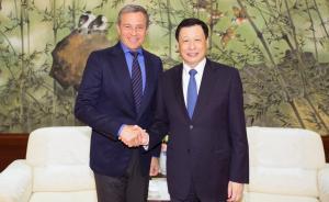 应勇会见迪士尼董事长:将上海迪士尼打造成中美合作的典范